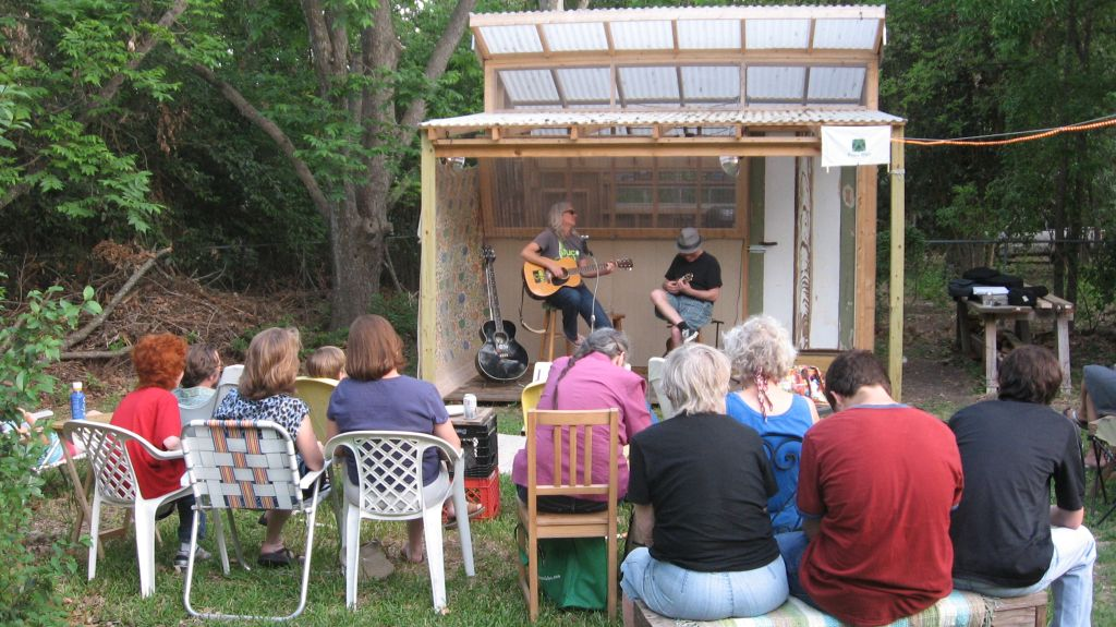 image gallery outdoor backyard stage