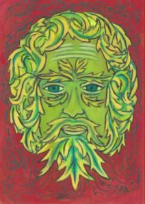 Winter Solstice Green Man